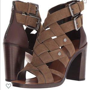 Dolce Vita tan sandal heels